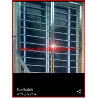 حفاظ استیل پنجره کرج ، قیمت حفاظ استیل پنجره در کرج
