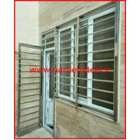 حفاظ استیل پنجره تهران ، قیمت حفاظ استیل پنجره در تهران